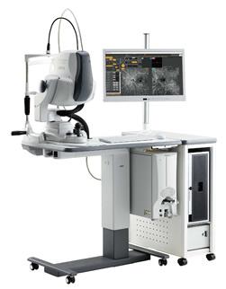 共焦点走査型ダイオードレーザ検眼鏡